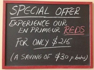 En Primeuer Red Special Offer