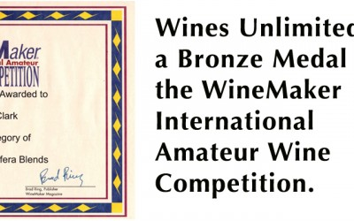 Wines Unlimited wins its first Wine-making Award – June 2014