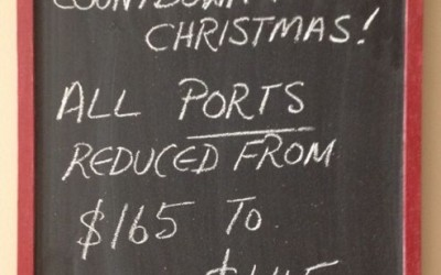 Countdown to Xmas – Ports Special Offer 23 – 30 July/2014