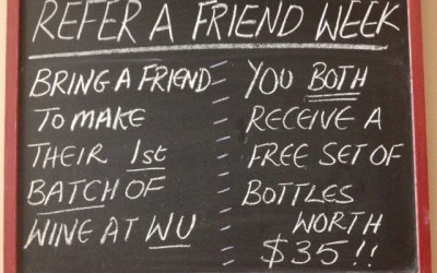 Refer a Friend Week – July 15-22/2014