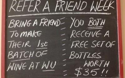 Refer a Friend Week – July 15-22/2014