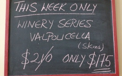 Winery Series Valpolicella 11-18 August/2014