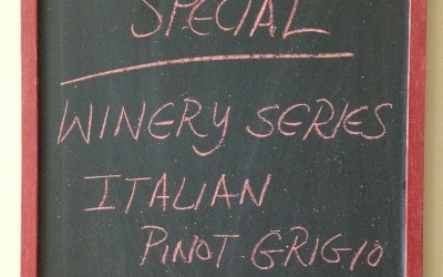 Italian Pinot Grigio Special Offer 8 – 13 Sept, 2014