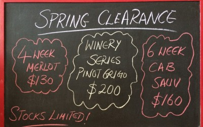 Spring Clearance!